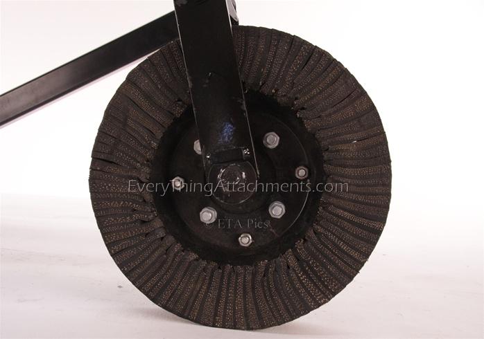 King Kutter Landscape Rake Wheel Kit Beatiful