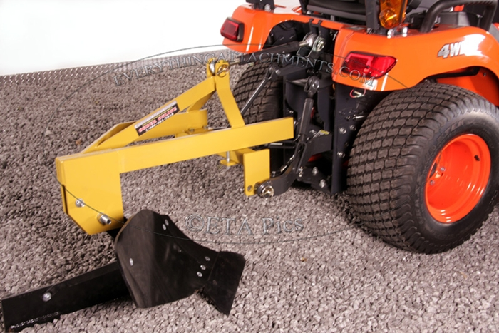 Everything Attachments Single bottom compact tractor plow made