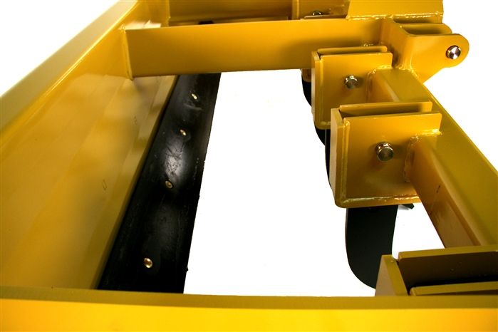 Heavy duty Large Shank Box Blade with lockable floating tailgate