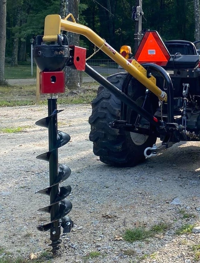 Tractor 3 Point Post Hole Digger For Up To 18 Inch Hole
