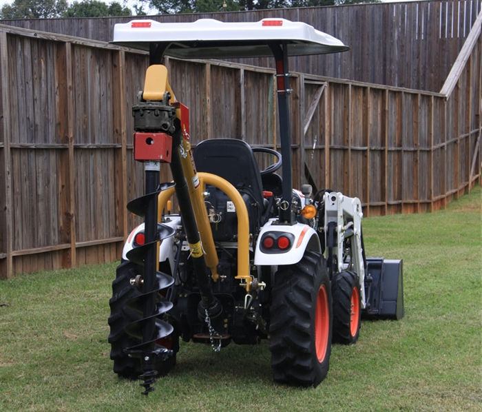 EA Compact Tractor Post Hole Digger
