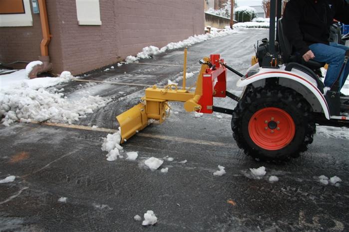 Compact Tractor Rear Scrape Blade