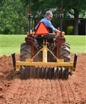 "Everything Attachments 6' Cultipacker, with Category I & II clevis type hitch and 15"" smooth wheels"