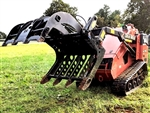 Sub Compact BX Tractor Mini Wicked Root Grapple 33""