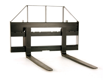 Pallet forks for small compact tractors or mini skid steers