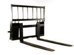 Heavy Duty Skid Steer Pallet Forks