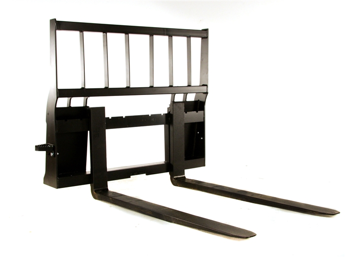 Heavy Duty Skid Steer or Large Tractor Pallet Forks by