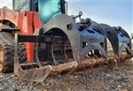 Mega Utility Tractor Wicked Root Grapple For Large Utility Tractors and Skid Steer loaders