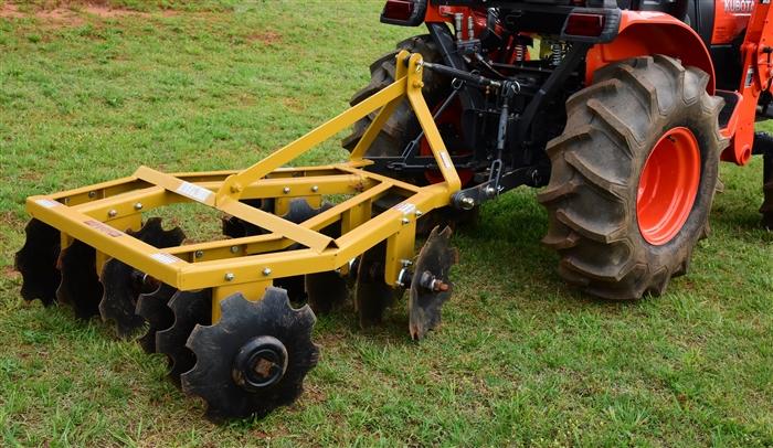 Xtreme Duty 48 Width Compact Tractor Angle Iron Disc Harrow