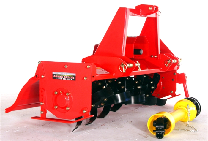 YJC048 - EA 48 Inch Chain Drive Rotary Tiller