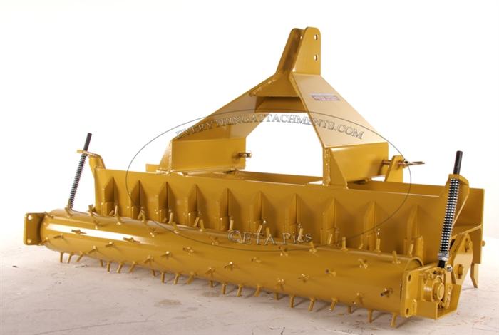 60 Inch Soil Pulverizer Yard Pulverizer