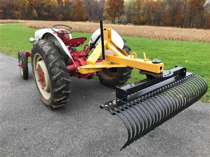 tarter landscape rake wheel kit tarter 3 point tractor implements
