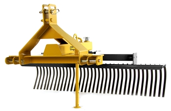 Everything Attachments Brand Tractor 3 Point Hitch Landscape rake, Root Rake, Rock Rake, York Rake