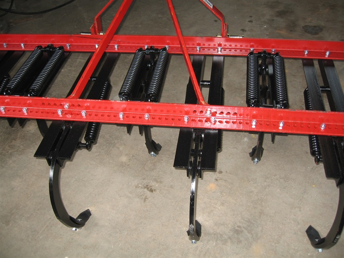 Fred Cain 13 Shank Category 2, Tractor 3 Point Field Cultivator, Ripper,  Tillage Tool