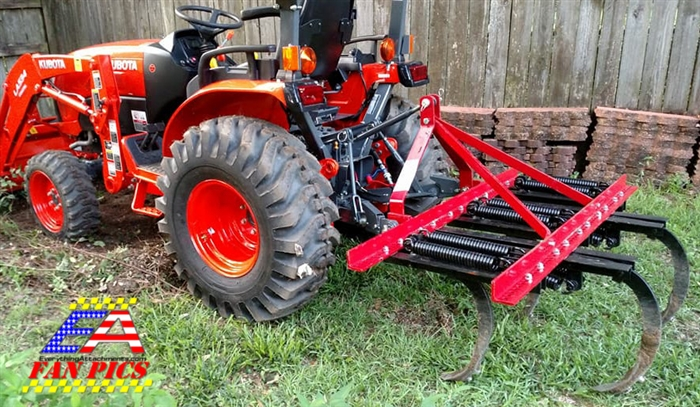 Three Point Plow : Fred cain shank field cultivator ripper tillage