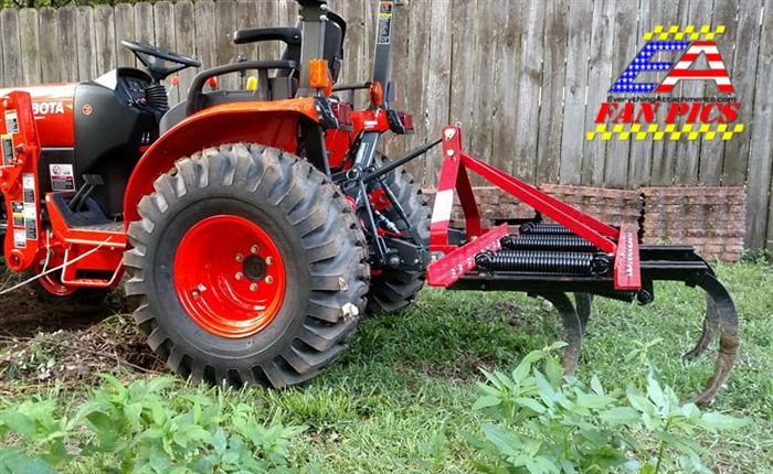 3 Point Hitch Ripper : Fred cain shank field cultivator ripper tillage