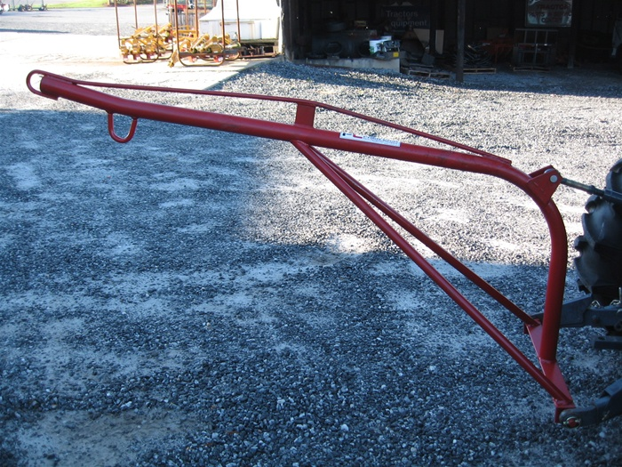 Tractor Boom Pole Lift : Fred cain tractor boom pole rear mounted crane lift