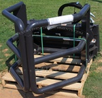 FFC Hay Bale Hugger Universal Skid Steer Quick Attach LAF1960