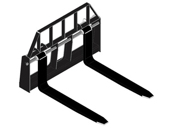 FFC Floating Style Pallet Forks for Compact Tractors