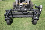 "Harley Rake, Skid Steer, Skidsteer, Power Box Rake M.6M 72"" Manual Angle"