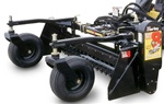 "Harley Rake, Skid Steer, Skidsteer, Power Box Rake MX8M 96"" Manual Angle"