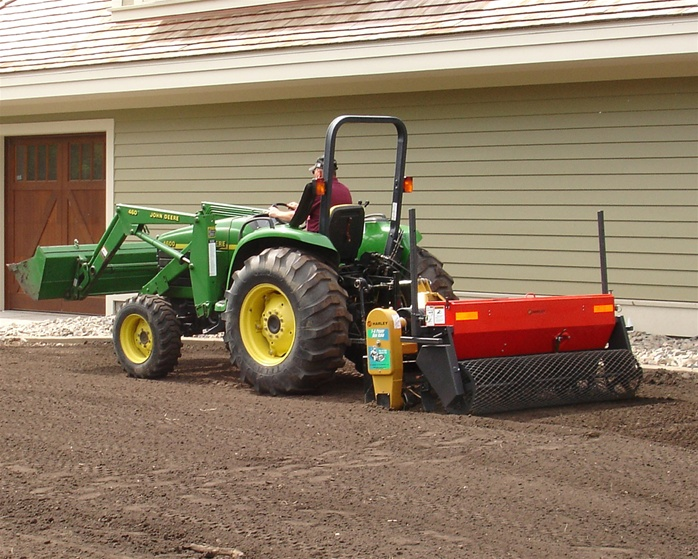 Ps 5 Harley Power Seeder Tractor 3 Point Hitch Model For