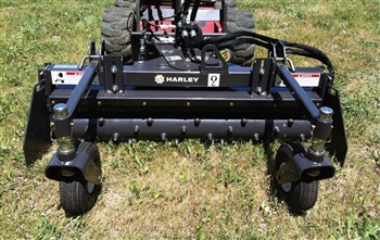 Harley D4 Power Box Rake with Hydraulic Angle
