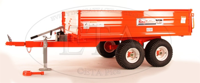 King kutter 15 ton xb dump trailer sciox Image collections