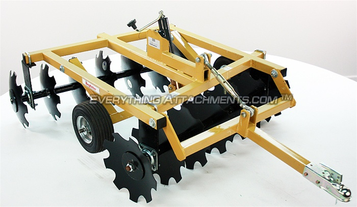 "ATV 14-14 Pull type Compact Disc Harrow 48"" with 1 7/8 ..."