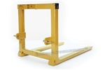 Tractor 3 point hitch Pallet Mover pallet fork attachment