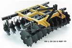 King Kutter Professional Box Frame Disc Harrow