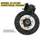 Plow Gauge Wheel Assembly