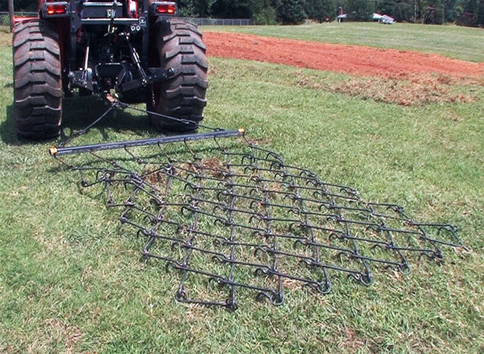 Add On 8/' x 4/' Long  Drag Chain Harrow Section Only