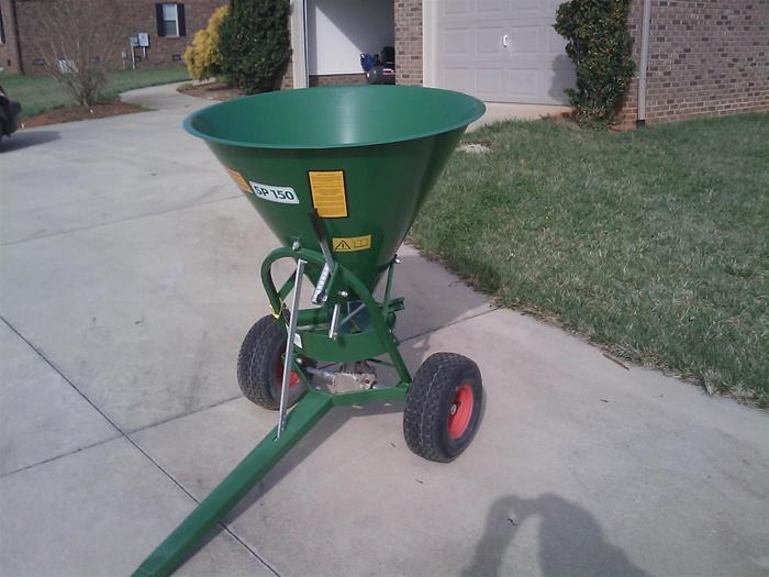 Agrex Pull Type Ground Drive Fertilizer Spreader Sp100