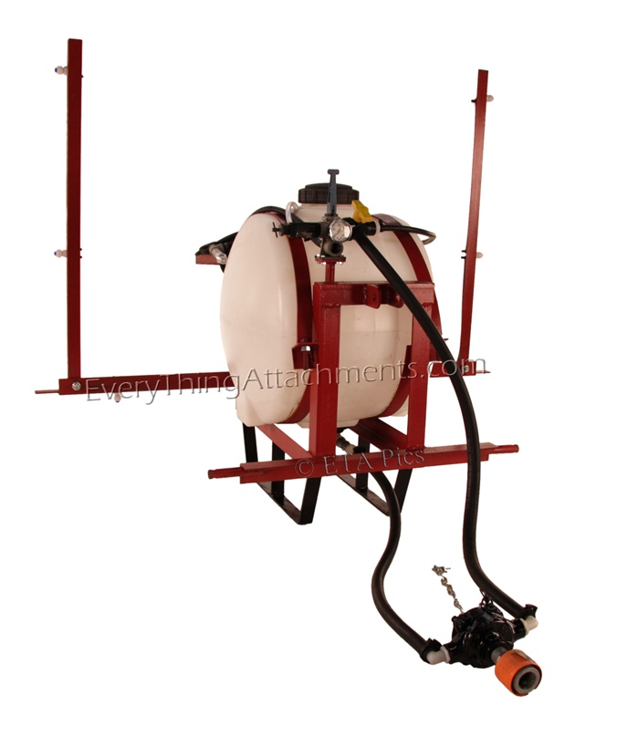 55 Gallon Southern Tractor 3 Point Sprayer With 12