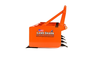 Compact Tractor Box Blades Grader Box by Land Shark