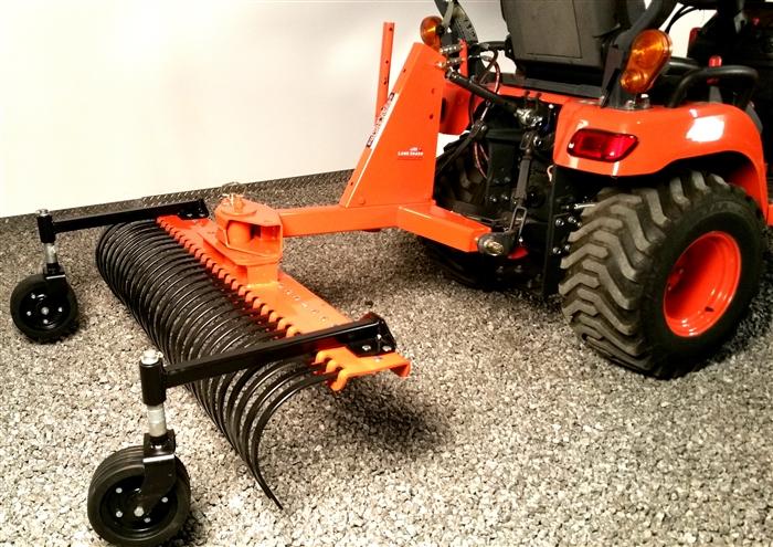 - Land Shark Subcompact Tractor Landscape Rake