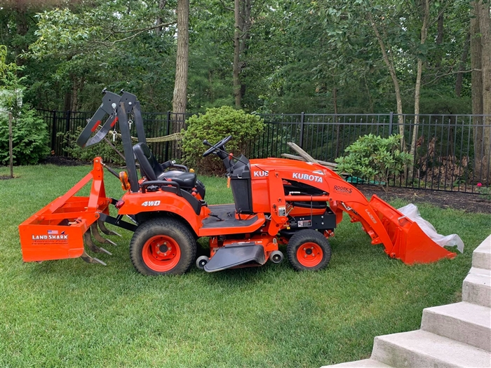 Affordable Subcompact tractor box blades - Land Shark