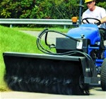 Sweepster Front Mount Hydraulic Drive Sweeper for Compact Tractors