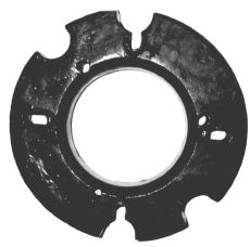 3154-1 Wheel Weights For Tractors - 17 Weights Weighing 1037 Lbs.