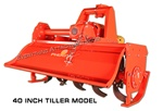 Phoenix T5 Series Heavy Duty 52 Inch 3 point hitch, Tractor PTO Driven Rotary Tiller from Sigma