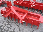 "Tractor Pulverizer, Yard Tool 60"" Southern Single Roller Big Tooth"