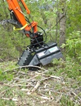 Rockhound BrushHound 30EXHD Brush Mower/Shredder for Mini Compact Excavators