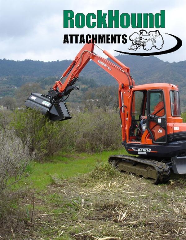 Rockhound BrushHound 40EXHD-HP Brush Mower for Excavators