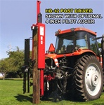 Shaver Post Driver - Model HD-12 Tractor 3pt Hitch Hydraulic Post Driver, category 2 or 3