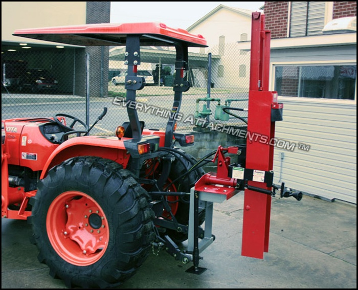 Hydraulic Post Drivers For Tractors : Shaver hydraulic post driver model hd