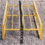 Snowco Hay Elevator 4' Extension Section with chain