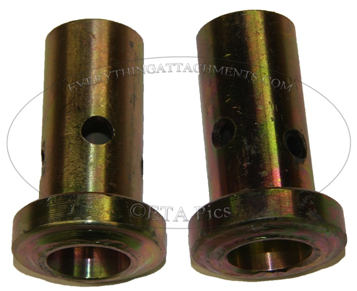 John Deere Skid Steer >> Bushings for use with Speeco Category II quick hitch.
