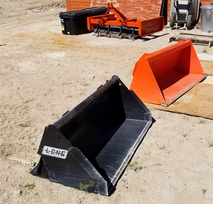 Custom made tractor loader bucket for any tractor loader