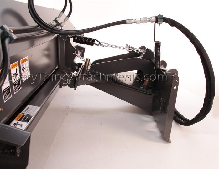 Sweepster Skid Steer Skidsteer Hydraulic Angle Change